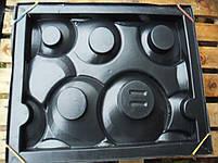 """Форма для гипсовых 3d блоков (перегородок) """"Кольца"""", фото 8"""
