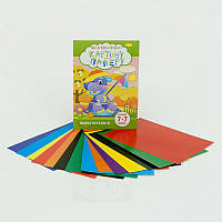 Гр Картон+бумага цветная А4 7+7 листов НКП-А4-7 (30)