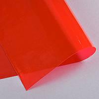 Силикон (0,5мм) красный прозрачный ш.122 (22017.003)