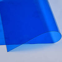Силикон (0,5мм) синий прозрачный ш.122 (22017.007)