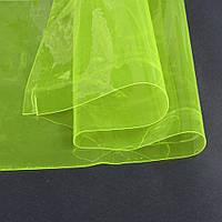 Силикон (0,2мм) желтый неоновый прозрачный ш.122 ( 22022.003 )
