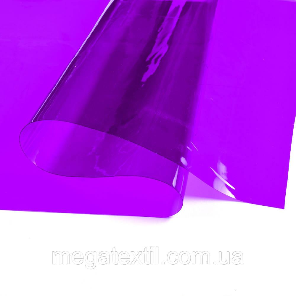 Силикон (0,2мм) фиолетовый прозрачный ш.122 ( 22022.006 )