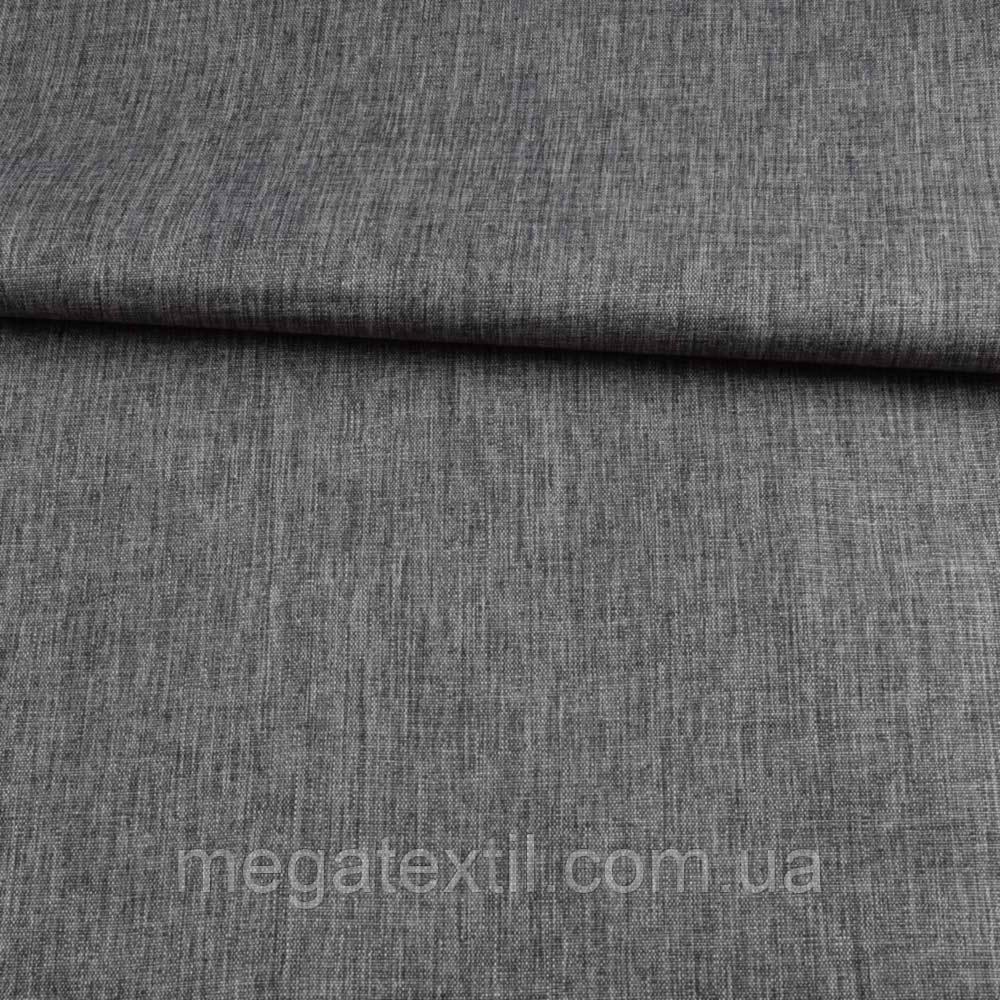 ПВХ ткань оксфорд лен 300D серый темный, ш.150 ( 22125.013 )