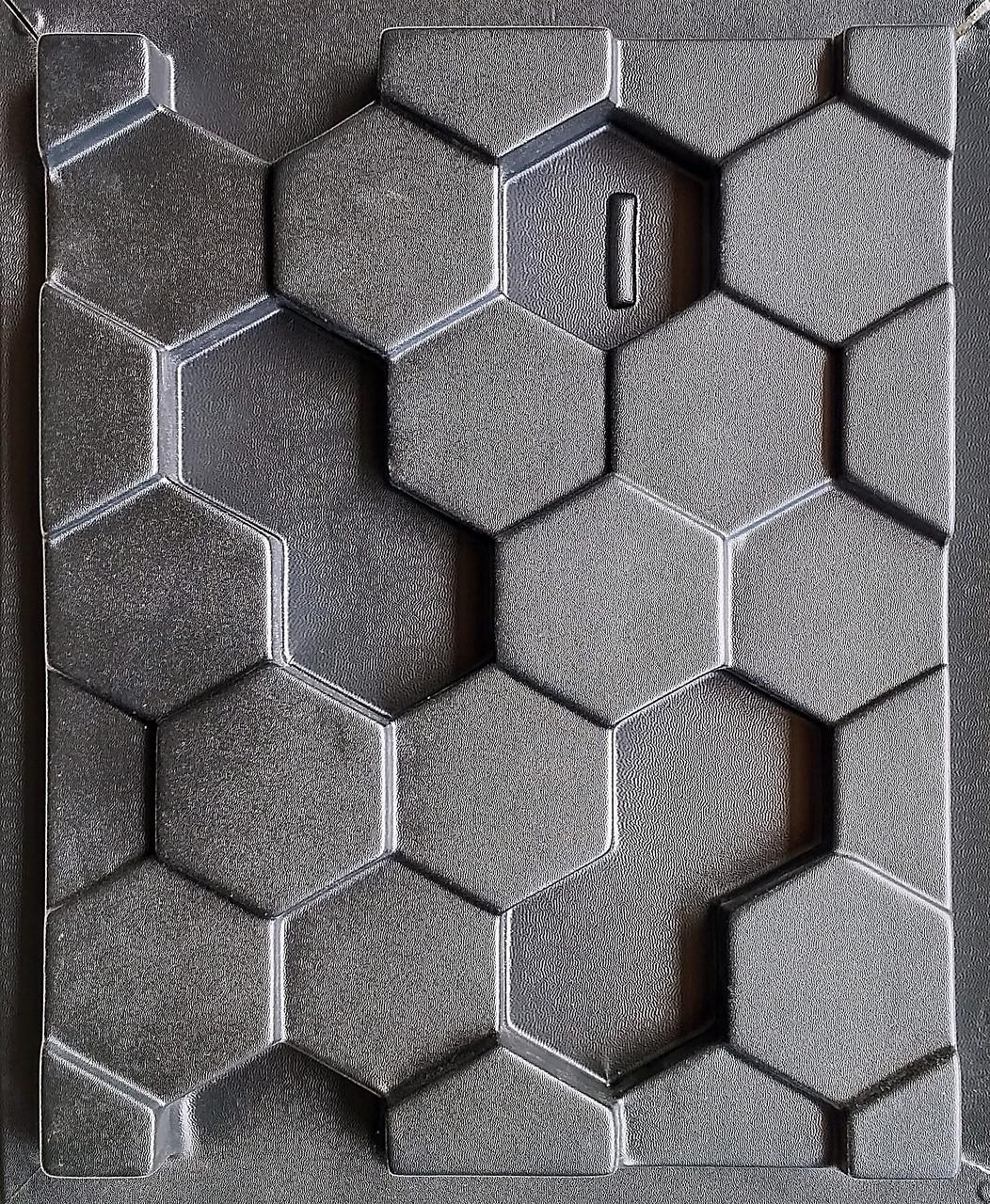 """Форма для гіпсових 3d блоків (перегородок) """"Сота"""""""