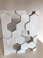 """Форма для гіпсових 3d блоків (перегородок) """"Сота"""", фото 4"""