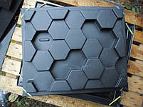 """Форма для гіпсових 3d блоків (перегородок) """"Сота"""", фото 5"""