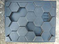 """Форма для гіпсових 3d блоків (перегородок) """"Сота"""", фото 7"""