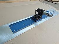 Магниевая гладилка канальная для выравнивания бетона с поворотным механизмом (лезвие + механизм) (стартовая), фото 3