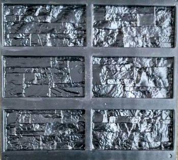 """Форма для декоративного каменю і плитки """"Оман"""", АБС-пластик, 18 форм в комплекті"""