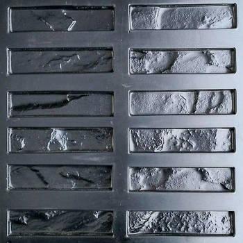 """Форма для декоративного каменю і плитки """"Клінкер"""", АБС-пластик, 36 форм в комплекті"""