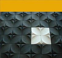 """Пластикова форма для 3d панелей """"Фрейле"""" 20*20 x4 (форма для 3д панелей з абс пластику), фото 3"""