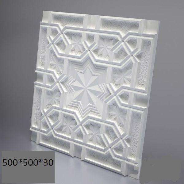 """Пластикова форма для 3d панелей """"Схід"""" 50*50 (форма для 3д панелей з абс пластику)"""