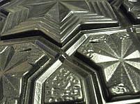 """Пластикова форма для 3d панелей """"Схід"""" 50*50 (форма для 3д панелей з абс пластику), фото 4"""