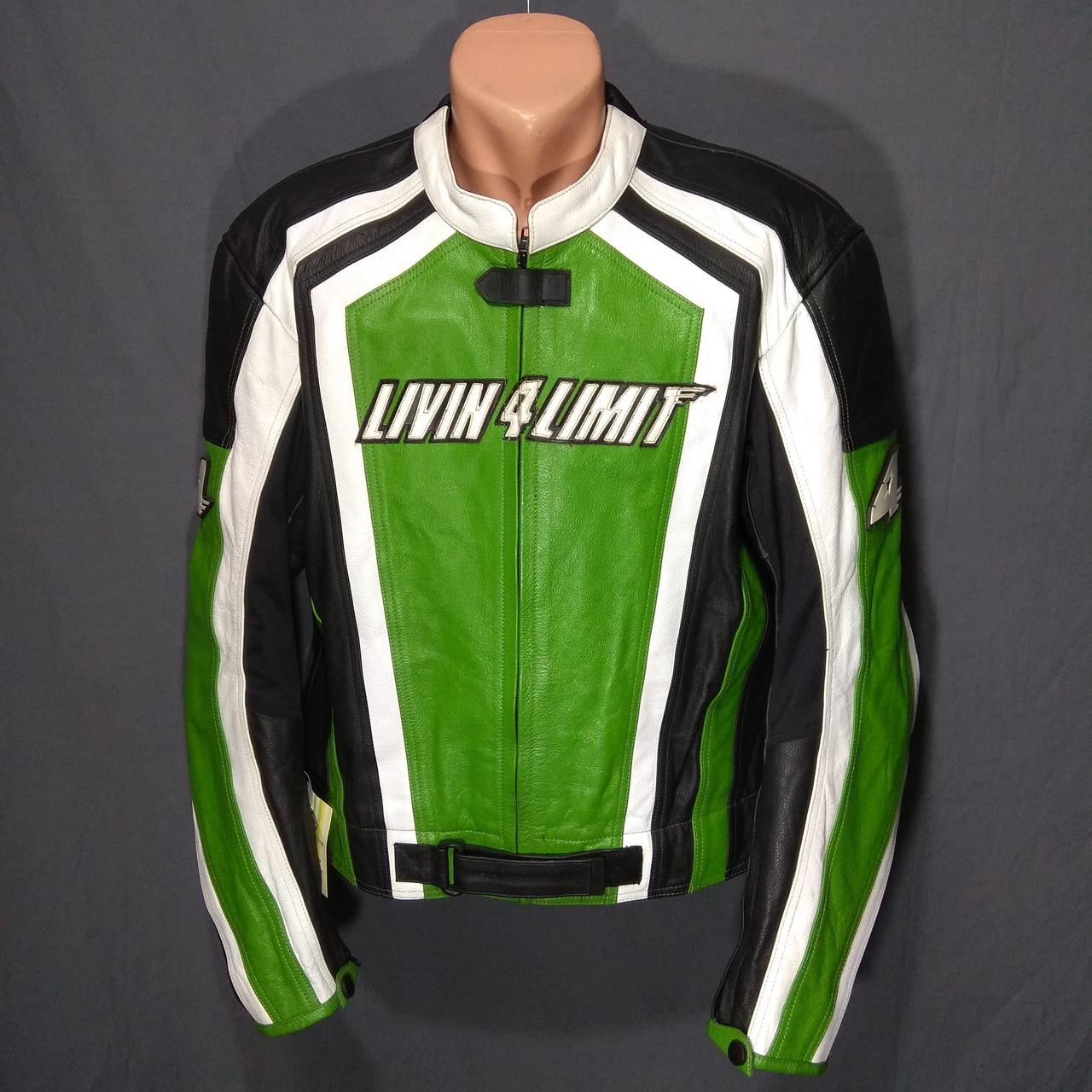 Мотокуртка LIVIN 4 LIMIT б/у кожа