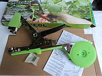 Набор для подвязки: степлер для подвязки (тапенер для подвязки) + лента + скобы на 10000 подвязок, фото 2