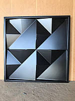 """Пластикова форма для виготовлення 3d панелей """"Орігамі"""" 50*50 (форма для 3д панелей з абс пластику), фото 2"""