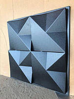 """Пластикова форма для виготовлення 3d панелей """"Орігамі"""" 50*50 (форма для 3д панелей з абс пластику), фото 3"""