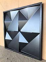 """Пластикова форма для виготовлення 3d панелей """"Орігамі"""" 50*50 (форма для 3д панелей з абс пластику), фото 4"""