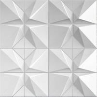 """Пластикова форма для виготовлення 3d панелей """"Футуризм"""" 50*50 (форма для 3д панелей з абс пластику), фото 4"""