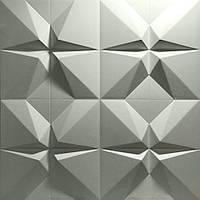 """Пластикова форма для виготовлення 3d панелей """"Футуризм"""" 50*50 (форма для 3д панелей з абс пластику), фото 6"""