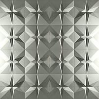 """Пластикова форма для виготовлення 3d панелей """"Футуризм"""" 50*50 (форма для 3д панелей з абс пластику), фото 8"""