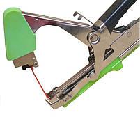 Степлер для підв'язки винограду (тапенер) TITAN 2 зелений, фото 4