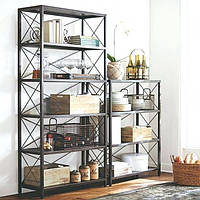 Комплект стеллажей для хранения GoodsMetall в стиле Лофт СТЖ128