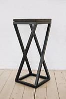 Барный стул GoodsMetall из металла в стиле ЛОФТ БС15