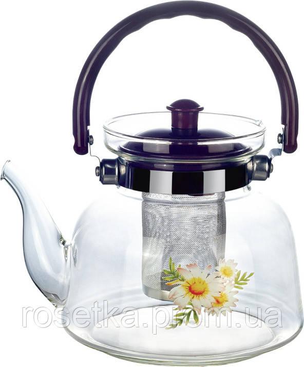 Заварочный стеклянный чайник
