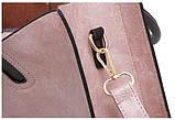 Набор женских сумок 3 предмета с брелком красного цвета BA-1, фото 4