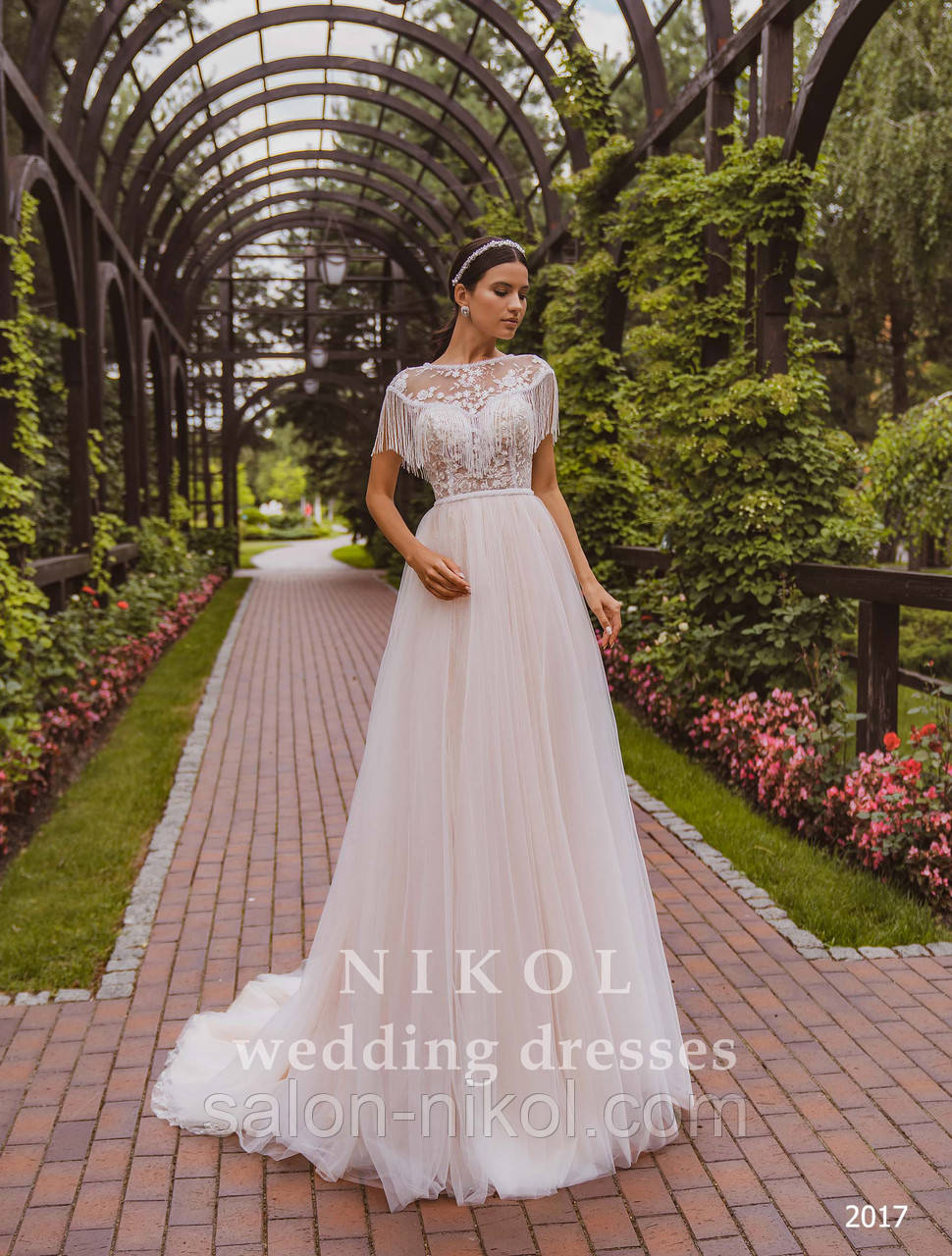 Свадебное платье № 2017