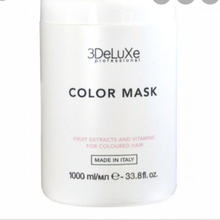 Маска для волос 3DELUXE Color mask, 1000 мл