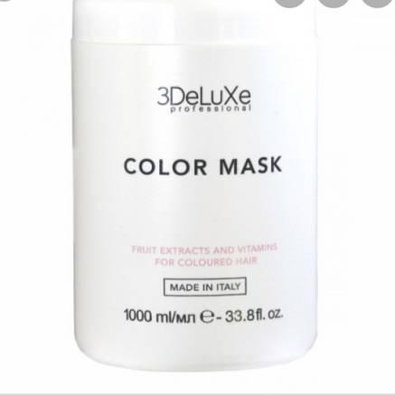 Маска для волос 3DELUXE Color mask, 1000 мл, фото 2