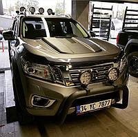 Накапотник Safari M1 для Nissan Navara 2015+