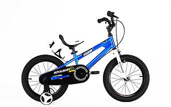 """Велосипед детский RoyalBaby FREESTYLE 14"""", OFFICIAL UA, синий, фото 2"""