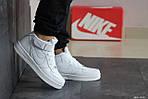 Женски кроссовки Nike Air Force (белые), фото 2