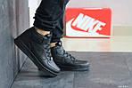 Женски кроссовки Nike Air Force (черные), фото 3