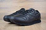 Мужские зимние кроссовки Reebok Classic (черные), фото 3
