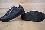 Мужские зимние кроссовки Reebok Classic (черные), фото 4