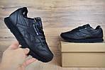 Мужские зимние кроссовки Reebok Classic (черные), фото 6