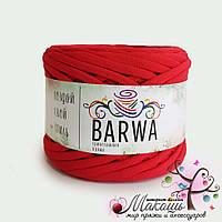 Трикотажная пряжа Барва, лайт 5-7 мм, красный мак