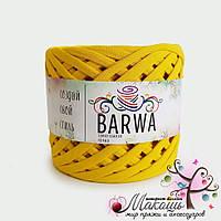 Трикотажная пряжа Барва, стандарт 7-9 мм, одуванчик