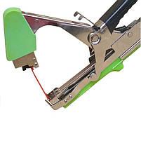 Степлер для подвязки TITAN 2 (з) + скобы + 20 лент (набор), фото 7
