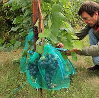 Сітка для винограду 50 шт (сітка-мішок для захисту від ос) 2 кг 22*28 см, фото 2