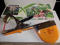 Степлер для підв'язки TITAN 6 + скоби + 10 стрічок (набір), фото 2