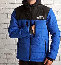 Куртка The North Face, сине-черная