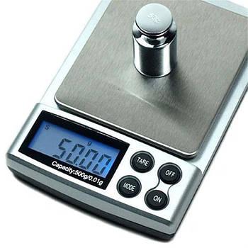 Ваги ювелірні ZC20601 2 кг (перевірені + батарейки)