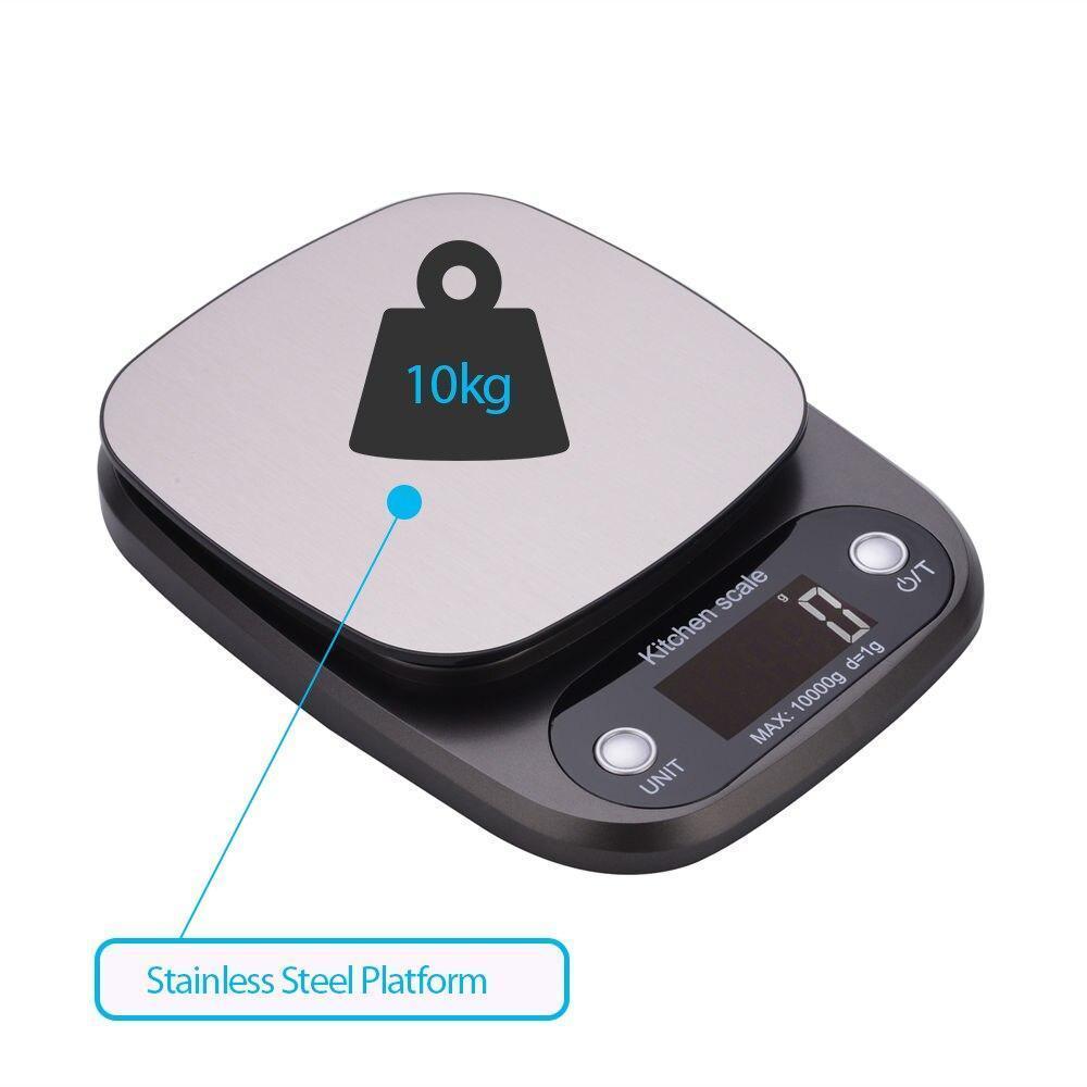 Весы кухонные HT-C305 10 кг (проверенные, с батарейками)