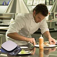 Весы кухонные HT-C305 10 кг (проверенные, с батарейками), фото 5