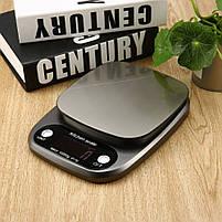 Весы кухонные HT-C305 10 кг (проверенные, с батарейками), фото 9